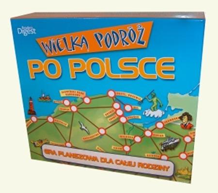 Picture of Wielka podróż po Polsce. Gra planszowa