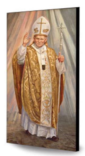 Picture of Św. Jan Paweł II - obraz na desce