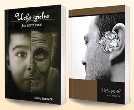 Picture of Ucho igielne - rzecz o sakramentach plus Słyszycie? Pakiet książek rekolekcyjnych
