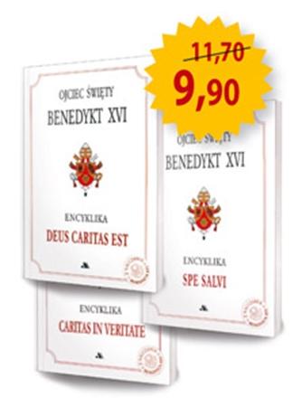 Picture of Encykliki Benedykta XVI - Komplet 3 książek