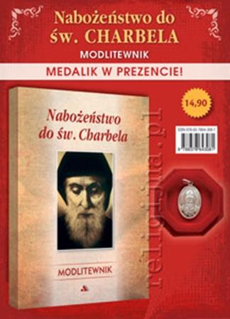 Picture of Nabożeństwo do św. Charbela - Modlitewnik z medalikiem w prezencie