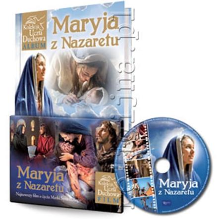Picture of Maryja z Nazaretu. Album z filmem DVD