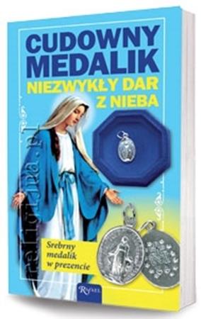 Cudowny Medalik. Niezwykły dar z nieba - Henryk Bejda, Bożena Hanusiak : Dewocjonalia