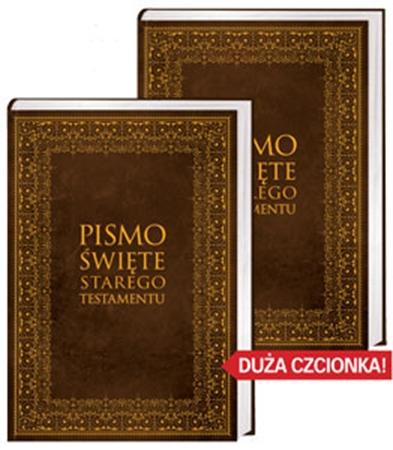 Picture of Pismo Święte Starego Testamentu (duże litery). Wydanie dwutomowe