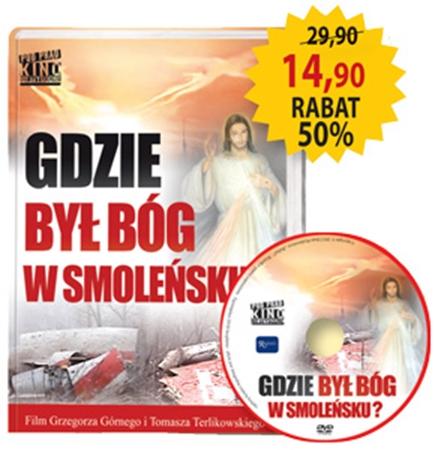 Picture of Gdzie był Bóg w Smoleńsku? Album z filmem DVD