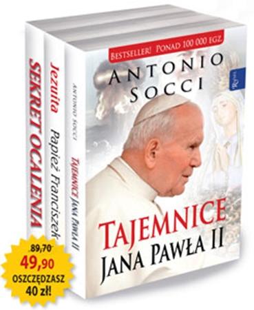 Picture of Pakiet papieski: Tajemnice Jana Pawła II, Sekret ocalenia, Jezuita. Papież Franciszek