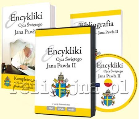 Picture of Encykliki Jana Pawła II. Komplet: książka, bibliografia, e-book