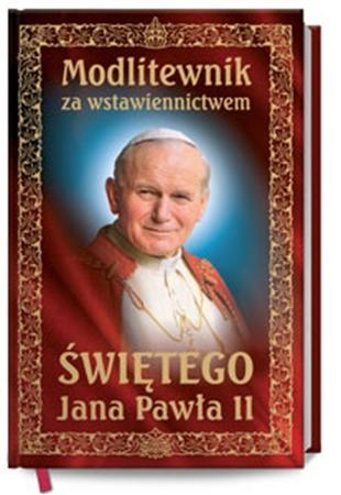Picture of Modlitewnik za wstawiennictwem Św. Jana Pawła II - bordowy