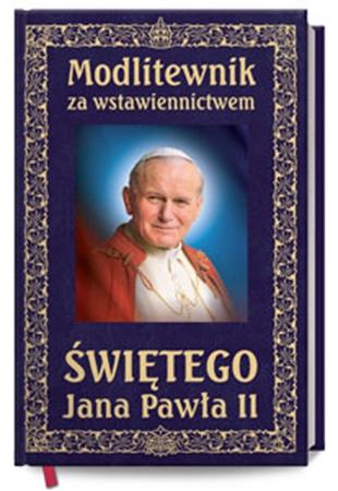 Picture of Modlitewnik za wstawiennictwem Świętego Jana Pawła II - wersja elegancka