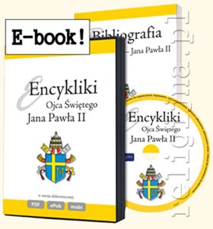 Picture of Encykliki Jana Pawła II. Bibliografia plus e-book (epub, mobi, pdf)