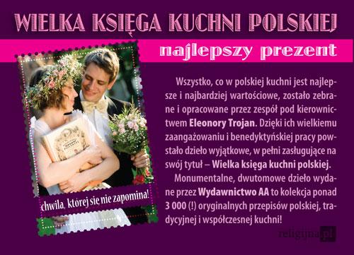 Picture of Wielka Księga Kuchni Polskiej z Pamiątką ślubu w prezencie!
