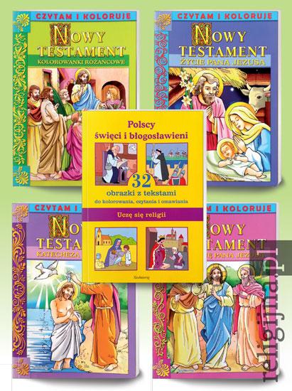 Picture of Pakiet kolorowanek. Czytam i koloruje
