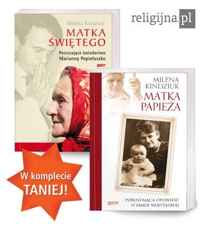 Picture of Matka Świętego + Matka Papieża – pakiet 2 książek