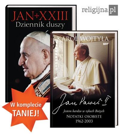 Picture of Dziennik duszy + Jestem bardzo w rękach bożych – pakiet 2 książek