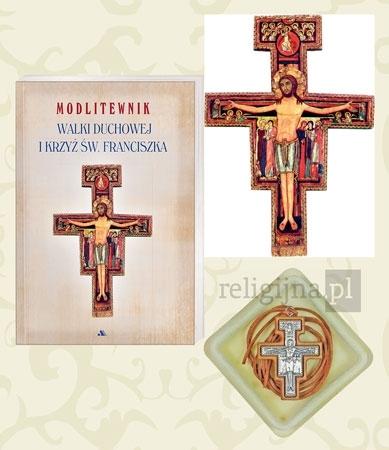 Modlitewnik walki duchowej i krzyż św. Franciszka : Książka : Dewocjonalia