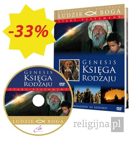 Picture of Genesis. Księga Rodzaju. Książka z filmem DVD