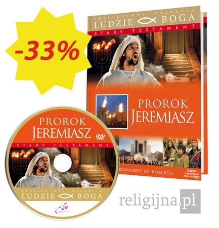 Picture of Prorok Jeremiasz. Książka z filmem DVD