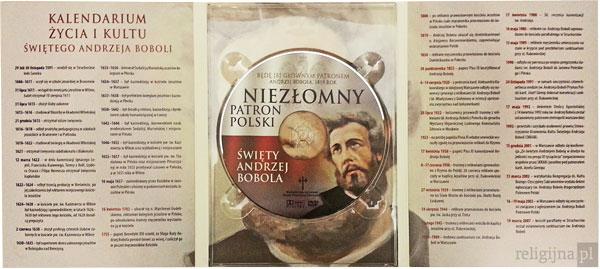Picture of Święty Andrzej Bobola. Niezłomny Patron Polski. Album z filmem DVD