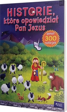 Picture of Historie, które opowiedział Pan Jezus (z naklejkami)