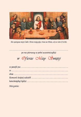 Picture of Biblia tysiąclecia. (Wersja komunijna)