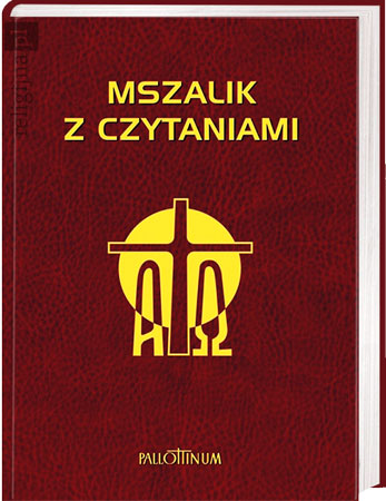 Picture of Mszalik z czytaniami na cały rok (większy format)