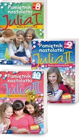 Pamiętnik nastolatki. Julia (cz. 8-10) - Beata Andrzejczuk : Dla dzieci