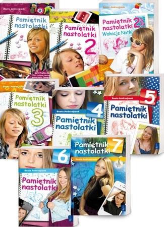 Pamiętnik nastolatki. Natka (cz. 1-7) - Beata Andrzejczuk - komplet