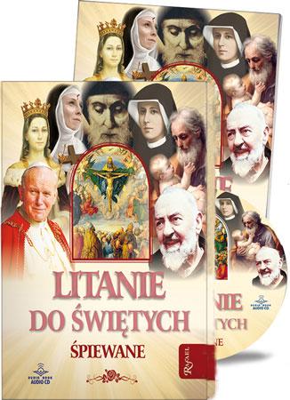 Picture of Litanie do świętych. Śpiewane (z płytą CD)