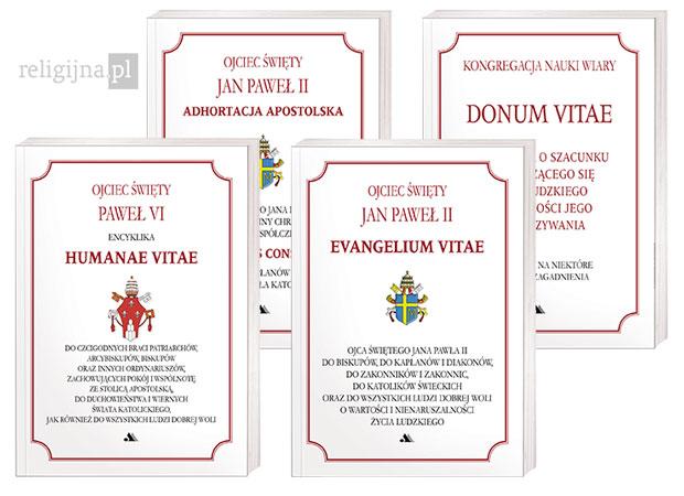Picture of Dokumenty Kościoła o życiu i małżeństwie (4 tytuły)