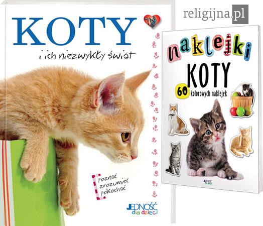 Picture of Koty i ich niezwykły świat. Książka + naklejki