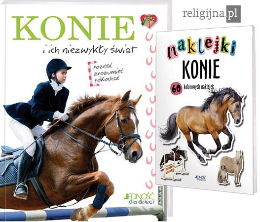 Picture of Konie i ich niezwykły świat. Książka + naklejki