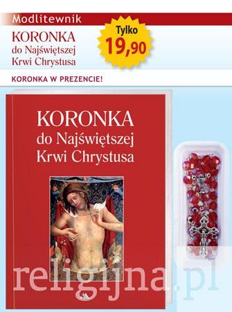 Picture of Koronka do Najświętszej Krwi Chrystusa. Modlitewnik z koronką w prezencie