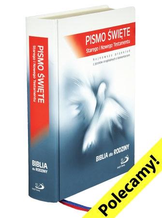 Picture of Biblia dla Rodziny. Pismo święte SiNT. Biblia Paulistów