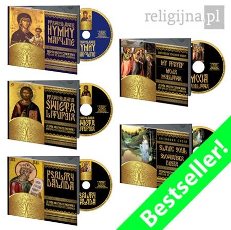 Picture of Najpiękniejsze śpiewy cerkiewne 5CD