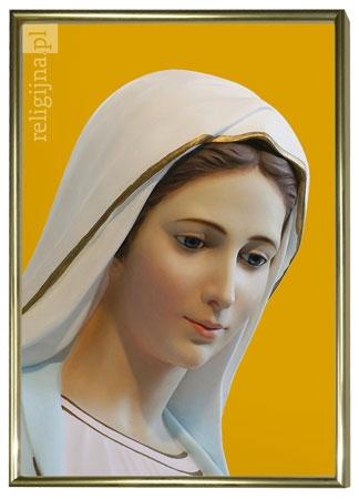 Picture of Matka Boża z Medjugorie - obraz w ramie