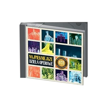 Najpiękniejsze dzieła operowe - Kolekcja 4 płyt CD
