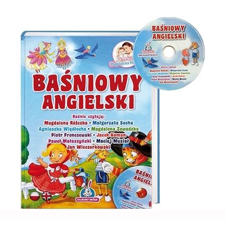 Baśniowy angielski z płytą CD : Książka