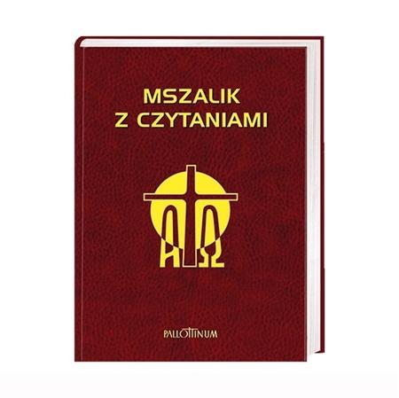 Mszalik z czytaniami na cały rok (większy format) : Książka