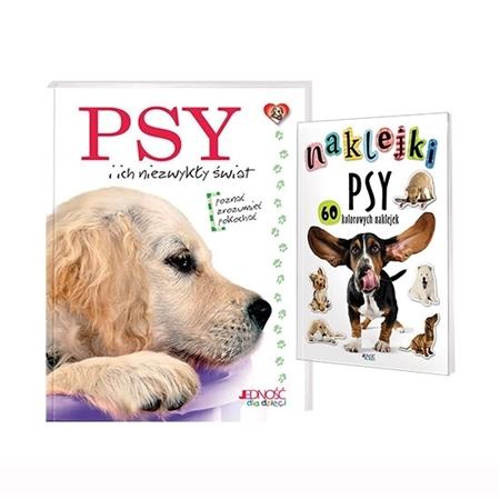Psy i ich niezwykły świat. Książka + naklejki