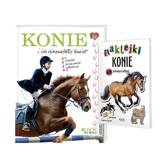 Konie i ich niezwykły świat. Książka + naklejki