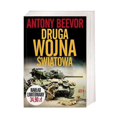 Druga wojna światowa - Antony Beevor : Książka