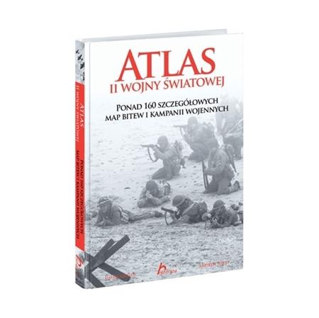 Atlas II wojny światowej - David Jordan, Andrew Wiest : Książka