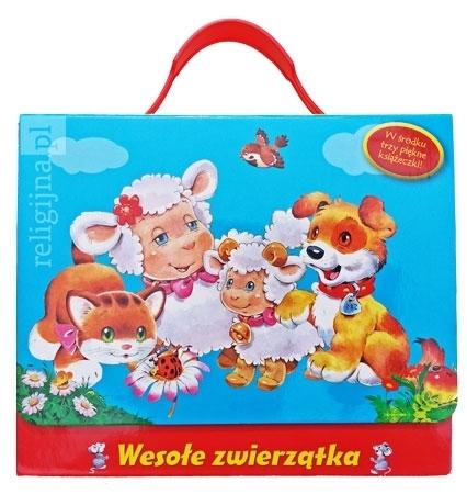 Picture of Wesołe zwierzątka. Kotek, piesek, baranek