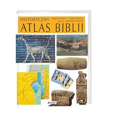 Historyczny atlas Biblii - Enrico Galbiati, Filippo Serafini : Książka