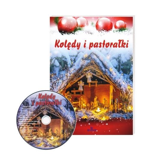 Kolędy i pastorałki z płytą CD. Ilustrowany śpiewnik z nutami