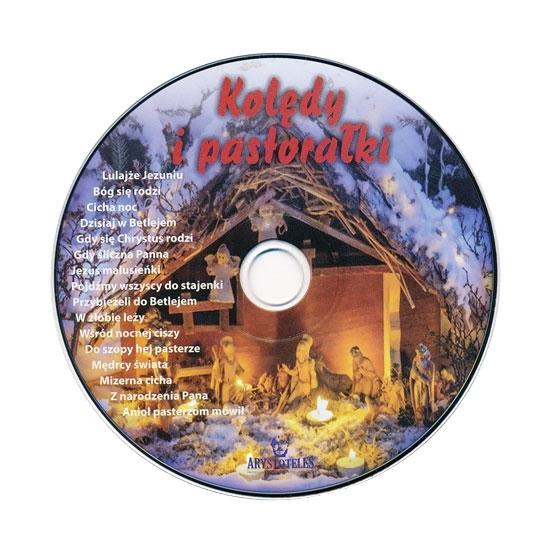Kolędy i pastorałki - Płyta CD. Ilustrowany śpiewnik z nutami