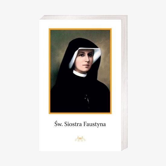 Św. Siostra Faustyna - Obrazek kolędowy - OB33