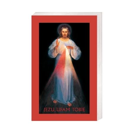 Jezu Ufam Tobie (z ramką) - Obrazek kolędowy - OB36