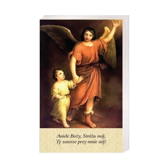 Aniele Boży, Stróżu mój... - Obrazek kolędowy - OB16