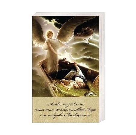 Anioł Stróż na łodzi - Obrazek kolędowy - OB15